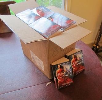 Books arrived