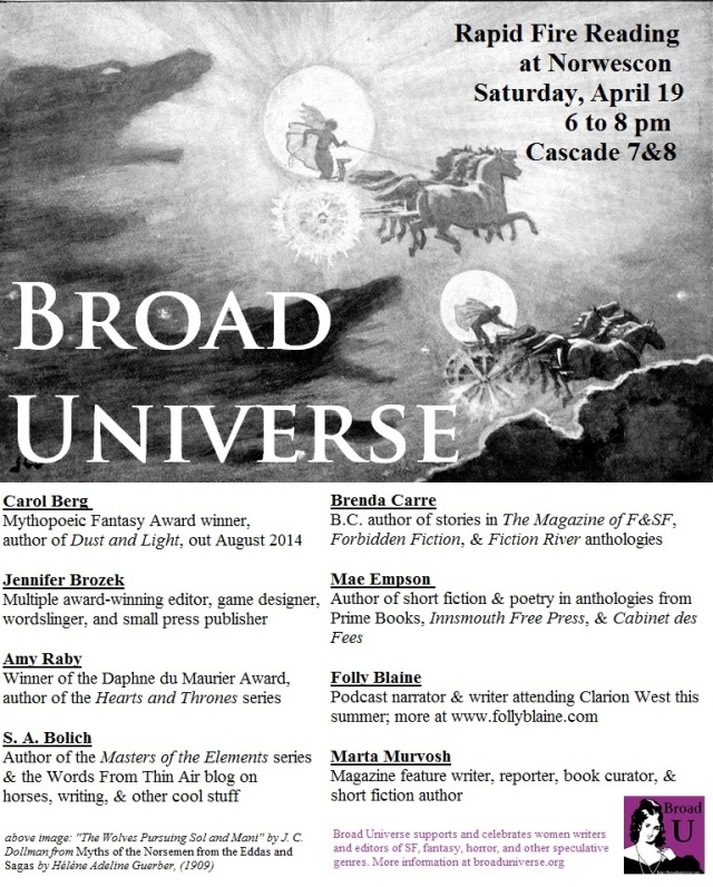 bu norwescon 2014 flyer